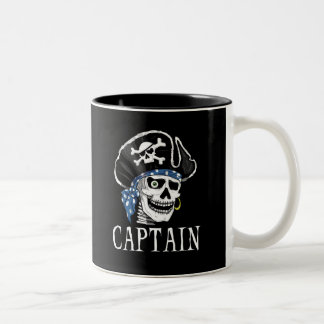 One-eyed Pirate Captain Coffee Mugs