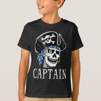 One-eyed Pirate Captain T-Shirt