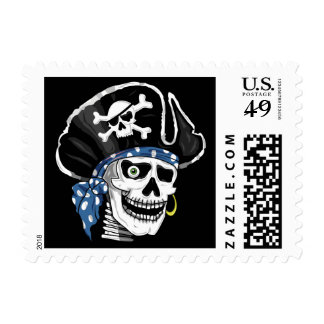 One-eyed Pirate Postage