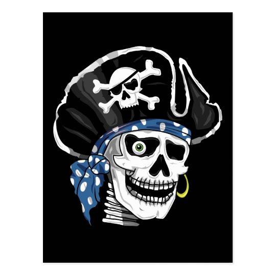 One-eyed Pirate Postcard