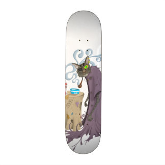 One Eyed Puss Skate Board