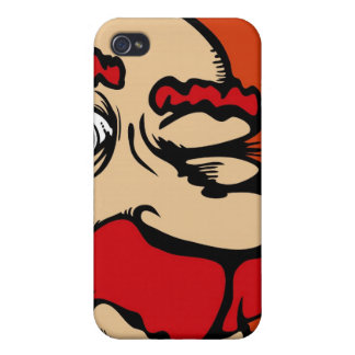 One Eyed red Phone iPhone 4/4S Cover