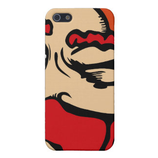 One Eyed red Phone iPhone SE/5/5s Cover