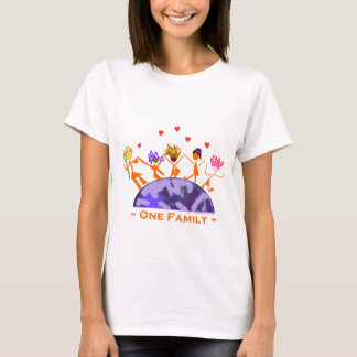 One Family - Earth T-Shirt