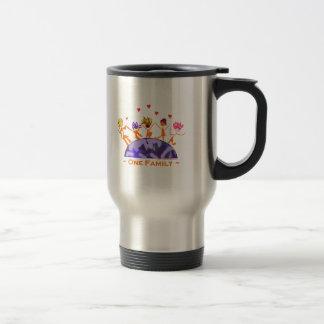 One Family - Earth Travel Mug