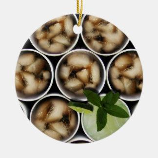 One Fancy Drink Ceramic Ornament
