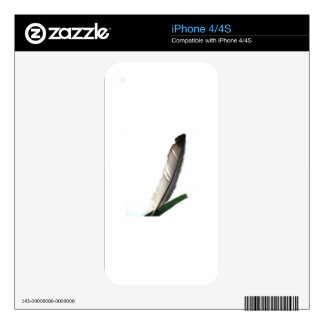 One Feather Skin For iPhone 4
