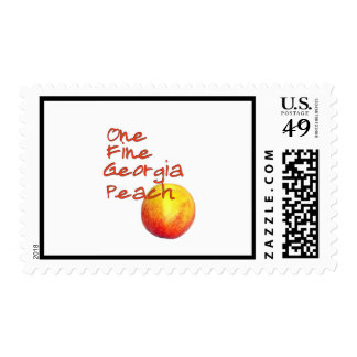 One Fine Georgia Peach Postage