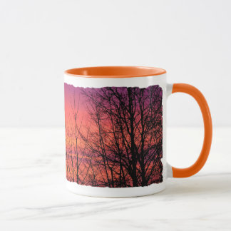 One Fine Morning Pink Sunrise Mug
