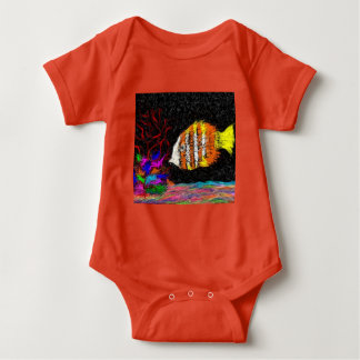 One Fish Of Many Baby Bodysuit