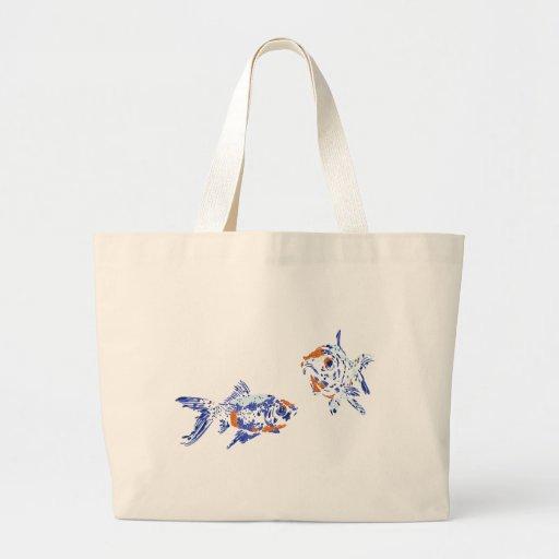 One Fish Two Fish Jumbo Tote Bag