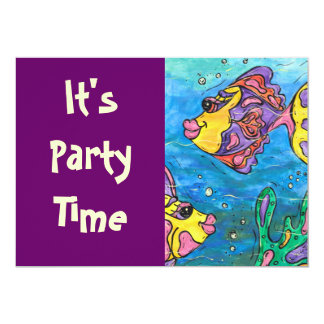One Fish Two Fish Party Invitations