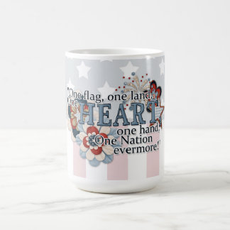 One Flag, One Heart Coffee Mug