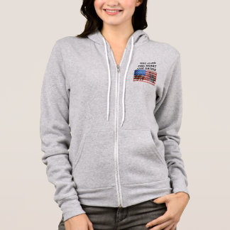 one flag one heart one nation USA Veterans Day Hoodie