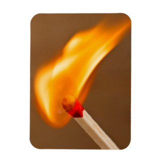 One flame of fire magnet