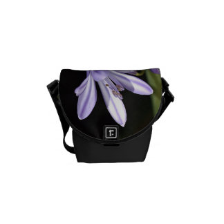 One Flower Agapanthus Courier Bag