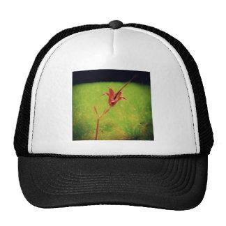 One flower trucker hat