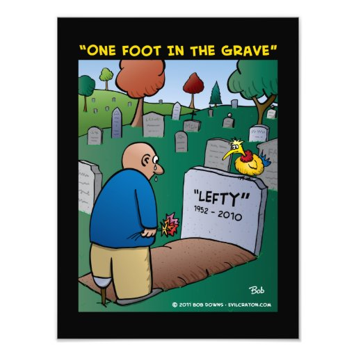 """""""One Foot In The Grave"""" Photo Art"""