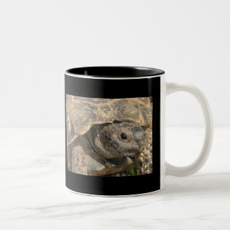One Foot in The Grave Two-Tone Coffee Mug