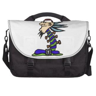 One-footed Frankenpunk Commuter Bag