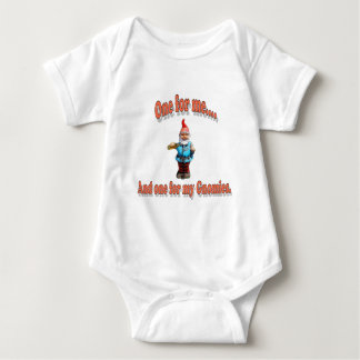 One For My Gnomies Baby Bodysuit