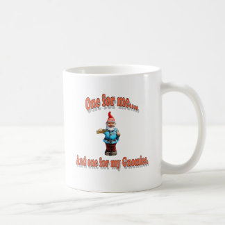 One For My Gnomies Coffee Mug