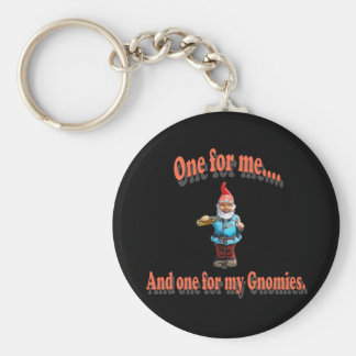 One For My Gnomies Keychain