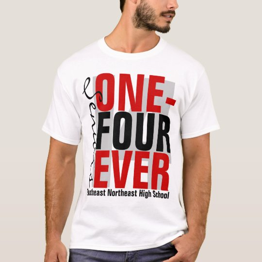 One-Four Ever Forever Class of 2014 Red Graduation T-Shirt