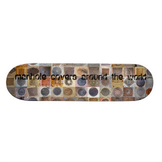 one-get covers around the world skateboard deck