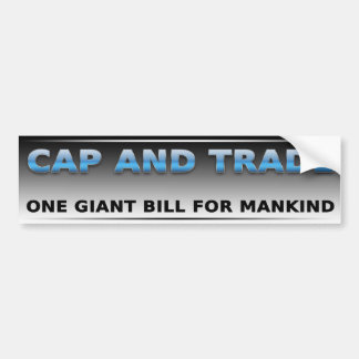 One Giant Bill Car Bumper Sticker
