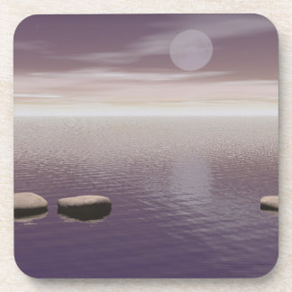 One Giant Leap Beverage Coaster