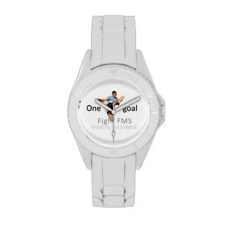 One goal fight FMS© Wrist Watches