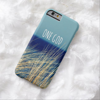 One God Barely There iPhone 6 Case