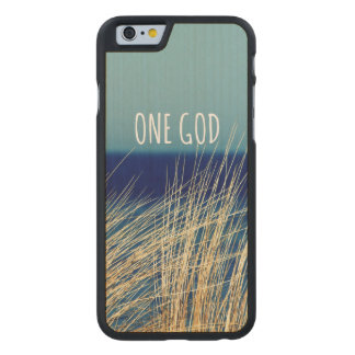 One God Carved Maple iPhone 6 Case