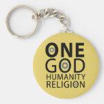 One God Keychain