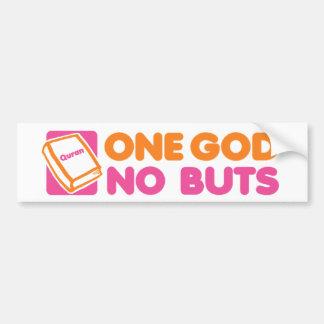 One God No Buts Bumper Sticker