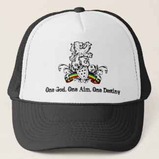 One God, One Aim, One Destiny Trucker Hat