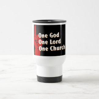 One God, One Lord, One Church Christian gift Coffee Mugs