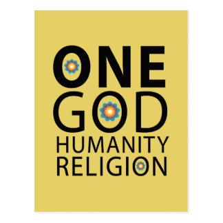 One God Postcard