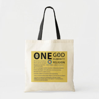 One God Tote Bag