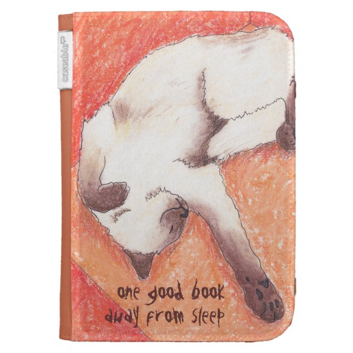 One good book cat kindle cover