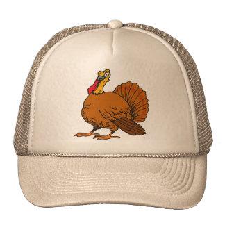 One good-natured lump of a girl turkey - trucker hat