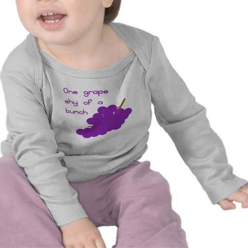 One Grape Shy T-shirts