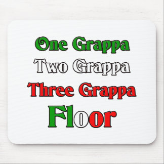 One Grappa Mouse Pad