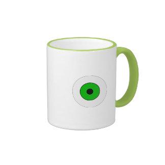 One Green Eye Coffee Mugs