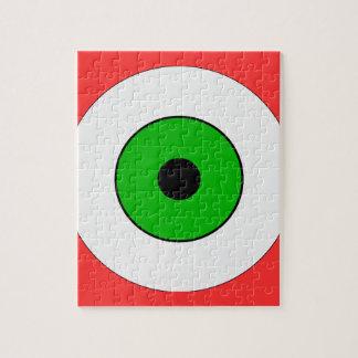 One Green Eye Jigsaw Puzzle