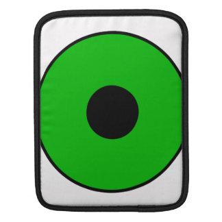 One Green Eye Sleeve For iPads