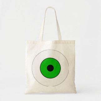 One Green Eye Tote Bag