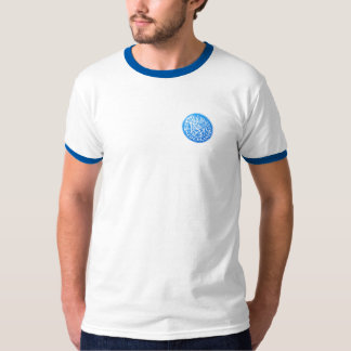 One Guilder coin with crypto Gulden symbol on back T-Shirt