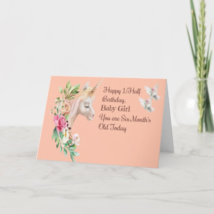 Unicorn Monthly Cards